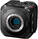 Panasonic Lumix DC-BGH1E Box Camera - Camera Evil de 10.2 MP Profesional (Cine 4K, WiFi, Micro Four Thirds, Livestreaming, 10.2MP Live Mos, Sensor Dual, Montable en Drones) Negro