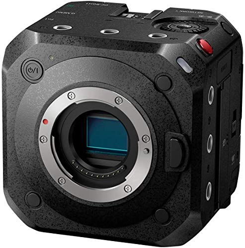 Panasonic Lumix DC-BGH1E Box Cinema Camera Mirrorless, Sensore Live MOS 10,2 MP, Riprese Cinematografiche e Streaming 10 Bit C4K 60p/50p, Utilizzo Professionale, Solo Corpo