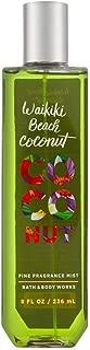 Bath & Body Works Waikiki Beach Coconut 8.0 oz Fine Fragrance Mist