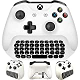 ELECTROPRIME for Xbox One S Chatpad Mini Gaming Keyboard Wireless Chat Message KeyPad