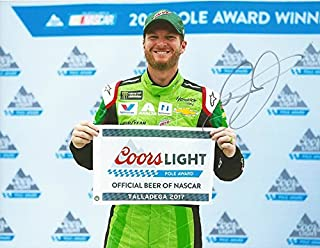 AUTOGRAPHED 2017 Dale Earnhardt Jr. #88 Mountain Dew Racing LAST RACE AT TALLADEGA (Pole Award Victory Lane) Retirement Final Season Signed Collectible Picture NASCAR 9X11 Inch Glossy Photo with COA
