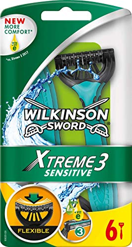 Wilkinson Sword Xtreme 3 Sensitive Einwegrasierer, 6 St