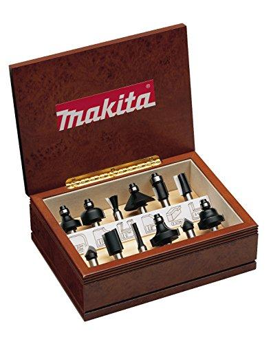Makita A-88054 Professional HM Fräser Set, 12-teilig, 8 mm