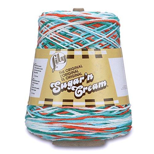 Lily Sugar 'N Cream Cone Yarn – Mod Blue