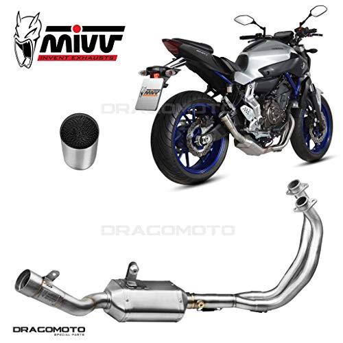 MT-07 Escape Completo MIVV Speed Edge 2014- Alto Hx + Kat