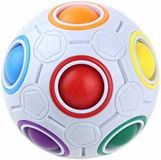 shanghui Fashion Adult Children's Ball Magic Toy Plastic Rainbow Football Puzzle Children's Learning Educational Toys!