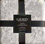 Lauren Micromink Classic King Bed Blanket Light Grey