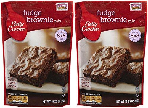 Betty Crocker Fudge Brownie Mix  1025 oz  2 pk