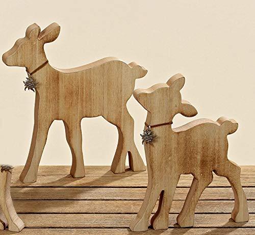 Boltze Home - Set di 2 espositori in legno Rudi REH