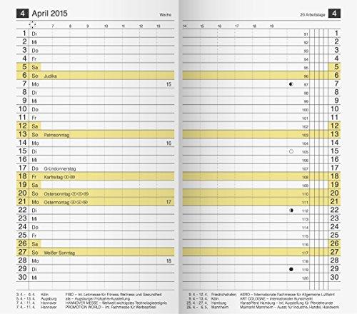 rido/idé 7046830 Taschenkalender/Plankalender M-Planer Ersatzkalendarium (2 Seiten = 1 Monat, 87 x 153 mm, Karton-Umschlag, Kalendarium 2020)