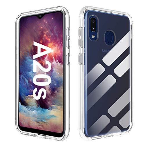 Whew Hülle Kompatibel mit Samsung Galaxy A20s, Anti-Vergilbung TPU Transparent Hülle Silikon Superdünn Weich Schutzhülle, Kratzfest Stoßfest Durchsichtige Handyhülle Kompatibel mit Samsung Galaxy A20s