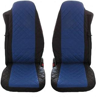 Sitzauflage LKW-Sitz Sitzbezug Sitzkissen graue Kunstleder für Scania LKW