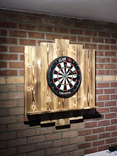WDS Darts Sports Holz Surround, Burned - 4