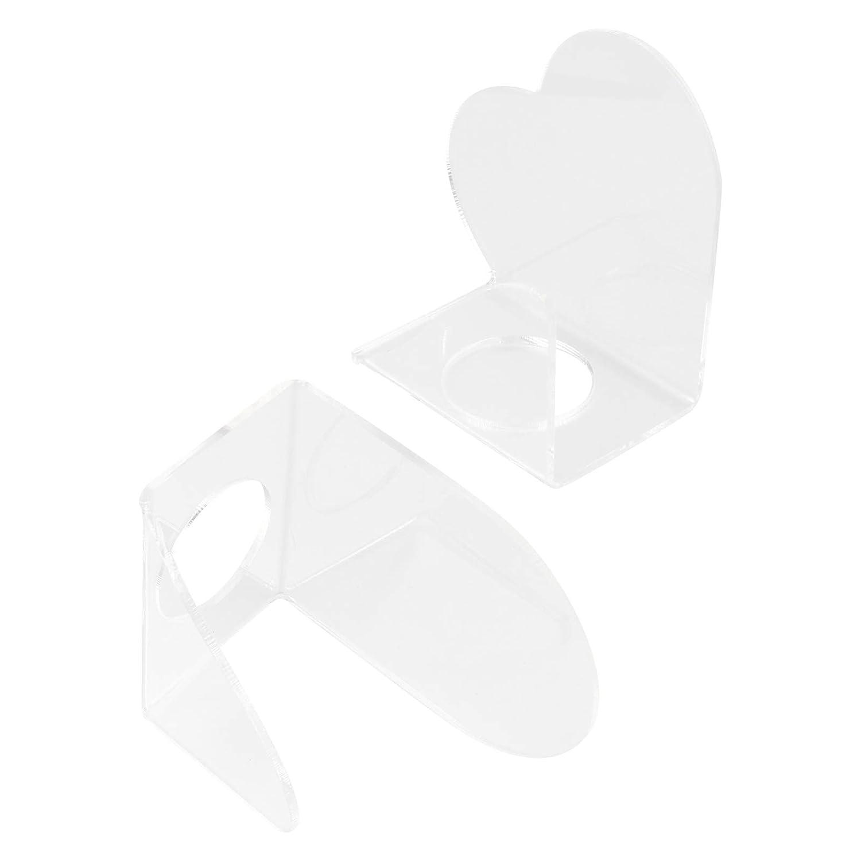Lurrose 2Pcs Manicure A Discount mail order surprise price is realized Palette Nail Palet Art Paint Polish Holder