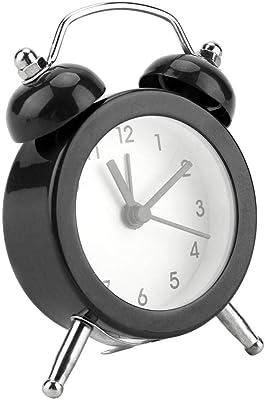 Garosa Reloj Despertador Digital Portátil de 3 Pulgadas con Reloj de Alarma con Batería Inicio Hogar