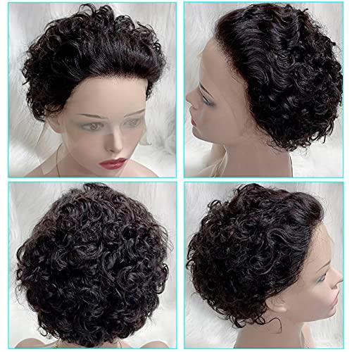 Short curly hair wigs _image0