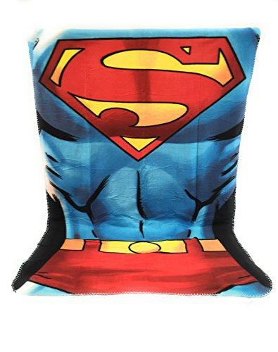 Fleecedecke für Kinder, 140 x 100 cm, doppelseitig, 170 g/m², Superman, DC Comics
