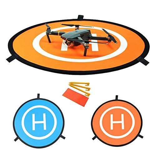 YUNIQUE ITALIA Drone Landing Pad, 75 cm Pieghevole Impermeabile Drone Atterraggio Pad per DJI Phantom 2/3/4/4 PRO, DJI Inspire1/2, DJI Mavic PRO, 3Dr Solo Drone