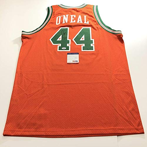 Jermaine O'Neal signed jersey PSA/DNA Eau Claire Indiana Pacers Autographed - Autographed NBA Jerseys