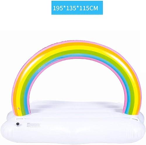 Erwachsene schwimmen Ring Kinder schwimmen Bett Wasser aufblasbare Spielzeug Float Reihe eine Vielzahl von Stil Schwimmen Ring aufblasbar (Farbe   B)
