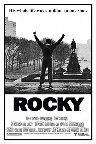 Classic Movie - Rocky Balboa 24x36 Poster