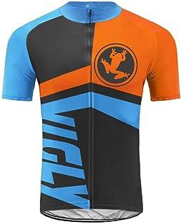 comprar comparacion Uglyfrog Maillots de Ciclismo Hombres Camiseta y Pantalones Cortos de Ciclismo Conjunto de Ropa para Ciclismo al Aire Libre