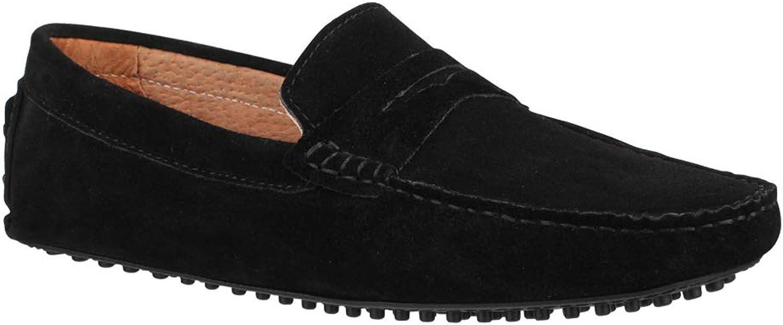 Elara Men's Boat shoes Black Size  7 UK
