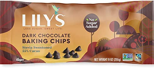 Lily's Dark Chocolate Chips- 1x9 OZ
