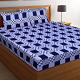 Sales Package: 1 Double Beddheet With 2 Pillow Covers (summer OFFER) Flat (L x W): 228 cm x 226 cm Material: Polycotton or Microfiber Thread Count: 144, Machine Washable: Yes Premium Quality , Length=90 inch / 228 cm , Width=88 inch / 226 cm. Soft To...