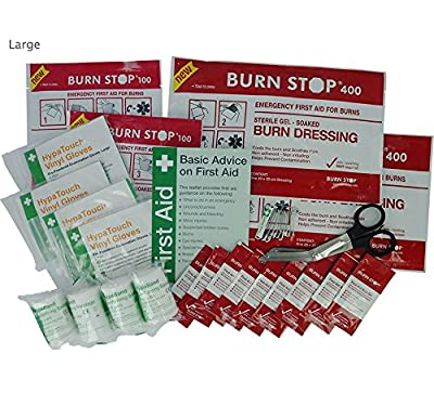 Burn Stop Burns Refill Kit, Large, R575 from Safety First Aid Group