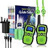 Walkie Talkies For Kids Rechargeables Review and Comparison