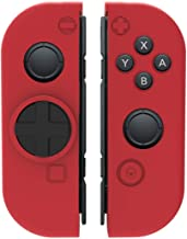 Collective Minds D-Grip Directional Pad & Silicone Cover- Red - Nintendo Switch