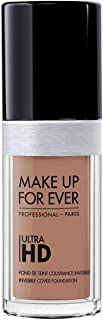 Make Up For Ever Ultra HD Invisible Cover Foundation 160 - R410, Golden Beige (I000032410)