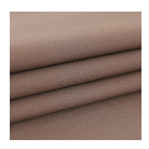 yankai Baumwollstoff Reiner Baumwollseidenstoff Einfarbiger Stoff Leinen Kleidungskleid Kurzarmhemd Handgefertigt DIY Breite 1,5 M NIU