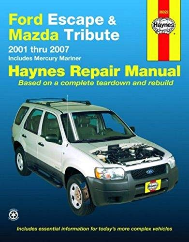 Ford Escape and Mazda Tribute: 2001…