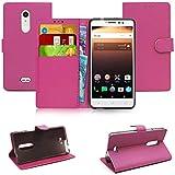 Blueenza purse case for Alcatel A3 XL l'étui - pink eco
