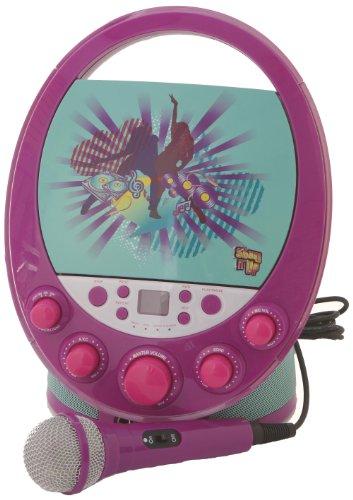 Karaoke System 66014 Shake it Up Karaoke Machine, Purple