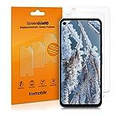 kwmobile 3x pellicola salvaschermo compatibile con Google Pixel 4a - Film protettivo proteggi telefono - protezione antigraffio display smartphone