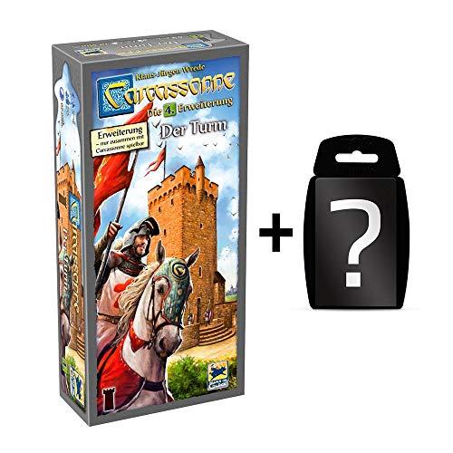 Carcassonne - Der Turm - Die 4. Erweiterung | DEUTSCH | Set inkl. Kartenspiel