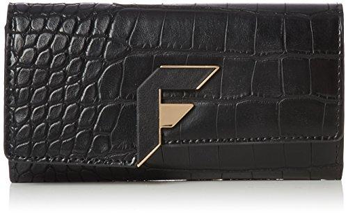 Fiorelli Damen Brompton Purse Geldbörsen, Schwarz (Black Texture), One Size
