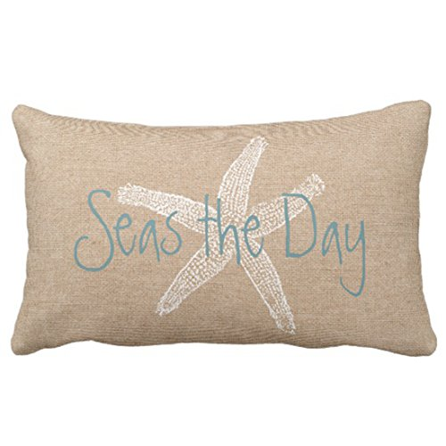 decorative beach themed pillow