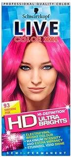 Schwarzkopf Live Color Xxl Ultra Brights 93 Shocking Pink Semi-Permanent Pink Hair Dye