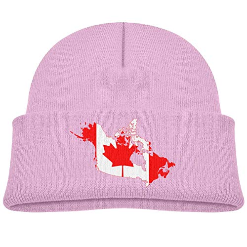 hgfyef Canada Flag Map Baby Infant Toddler Winter Warm Beanie Hat Cute Children's Thick Stretchy Cap DIY 29756