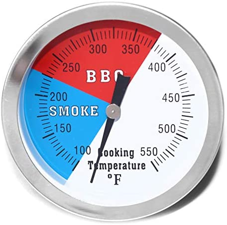 DOZYANT 3 BBQ Thermometer Temperature Gauge for Charcoal Grill Pit Smoker Temp Gauge Grill Thermometer product image