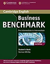 Permalink to Business Benchmark Pre-Intermediate to Intermediate Student's Book BEC [Lingua inglese]: Pre-intermediate to Intermediate Business Preliminary PDF