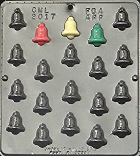 Bell Bite Size Chocolate Candy Mold Christmas 2017