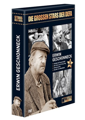 Erwin Geschonneck - Die grossen Stars der DEFA [4 DVDs]