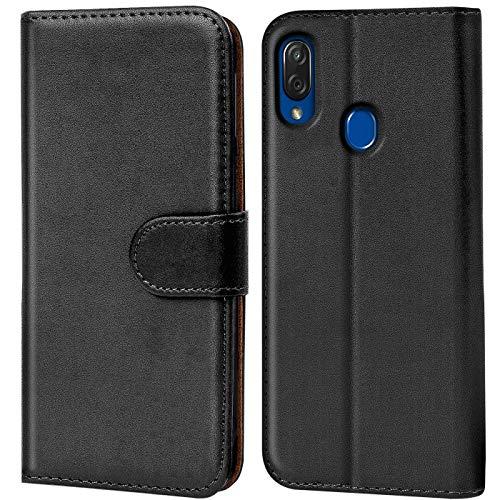 Verco Funda para ZTE Blade V10 Vita, Telefono Movil Case Compatible con ZTE V10 Vita Libro Protectora Carcasa, Negro