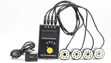 EL34 KT88 5881 6L6 6V6 KT66 6550 Quad Tube Amp Bias Match Meter Tester Suzier T1