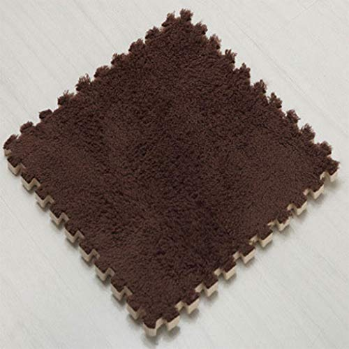 Alfombra de espuma EVA con revestimiento sintético que entrelaza Juego Alfombrilla Puzzle Puzzle Mats bricolaje espuma lanudo terciopelo alfombra alfombra de juego estera de arrastre del Yoga flooring